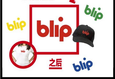 BLIP TV修改之后的LOGO