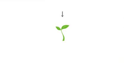 树苗为主要元素