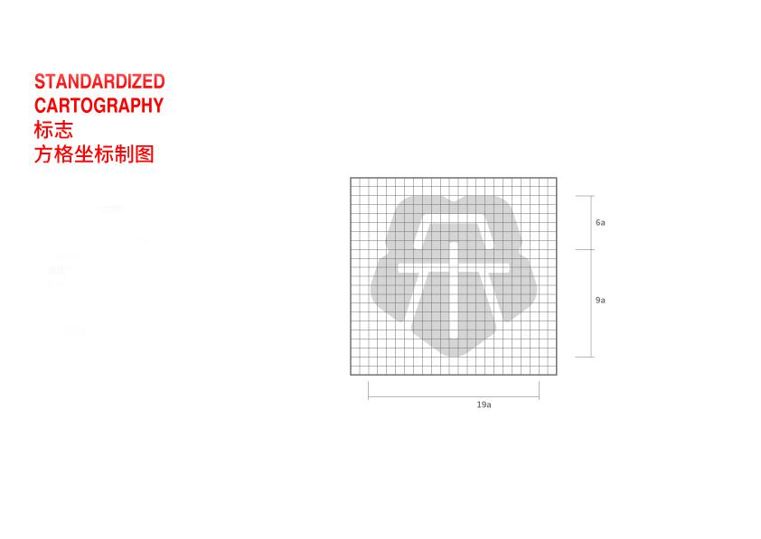 标志方格坐标制图