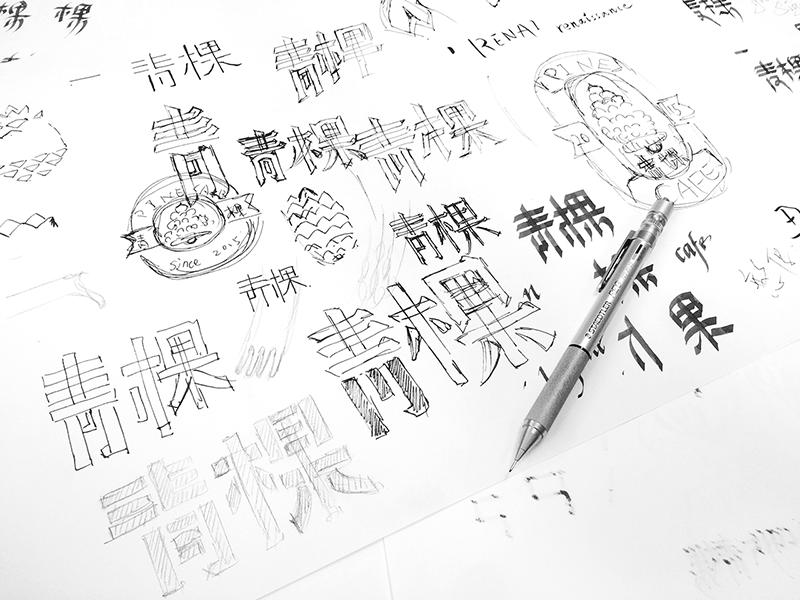 轻藏式草图