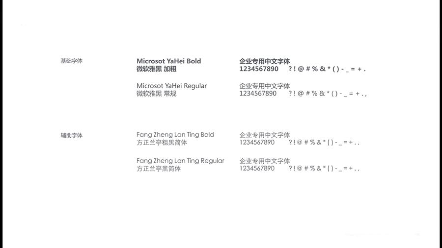 中文字体应用