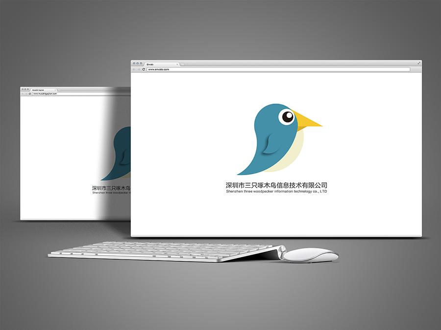 三只啄木鸟网站UI设计