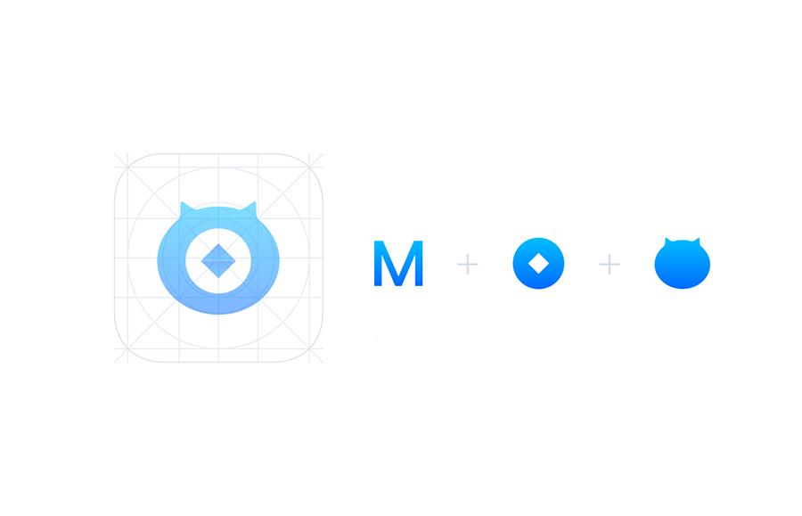网商银行(MYbank)logo创意设计灵感