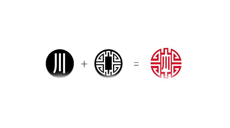川俞竹苑LOGO设计灵感来源
