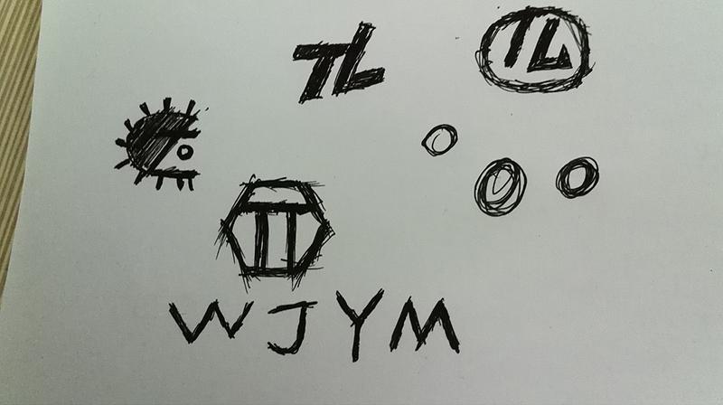 唐朗五金LOGO手绘图