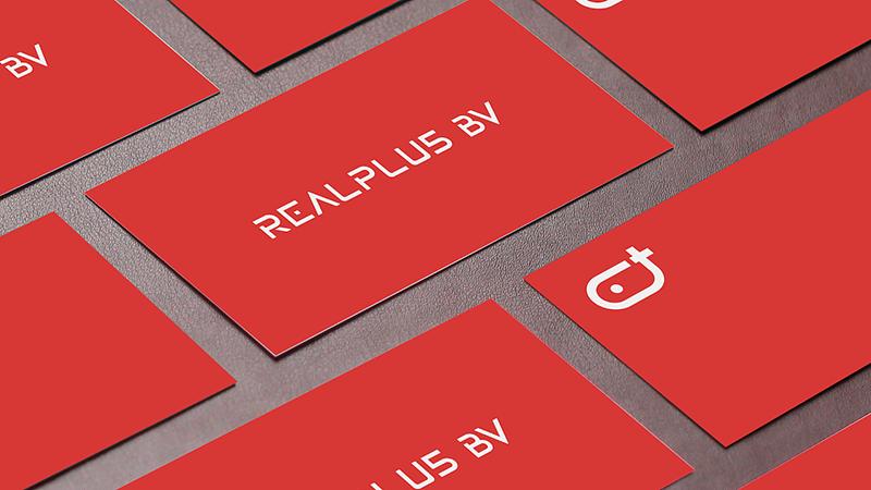 REALPLUS VR LOGO在名片上的应用