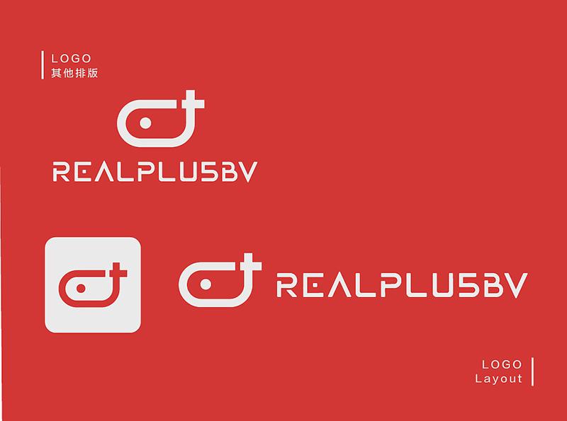 REALPLUS VR LOGO其他排版组合
