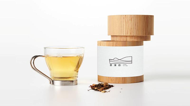 茶溪谷包装设计图片