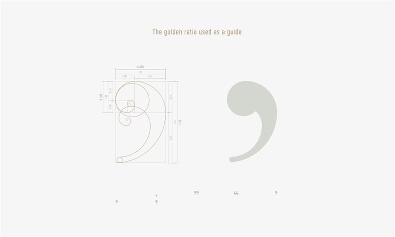 设计来源:一部分是新思路,一部分是受旧字体的影响来借用和参考.