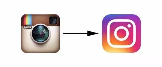 Instagram标志设计更新