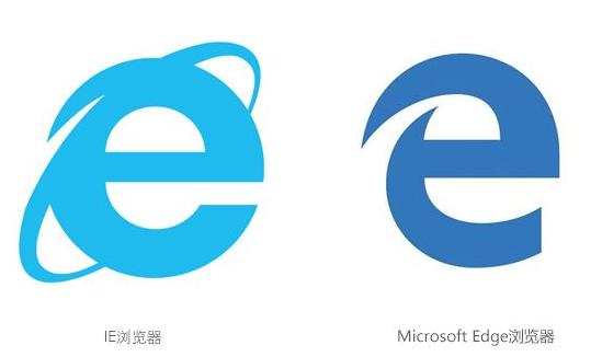 网址e图标_edge浏览器将使用一个\